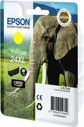 EPSON Ink Cart/24XL Elephant Yellow