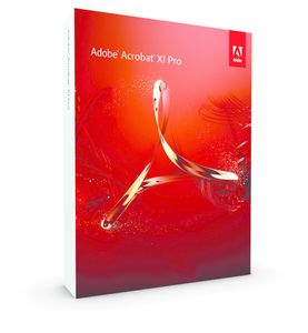 ADOBE MK/ Acrobat Prof v11/SW WIN DVD Set (65194649)