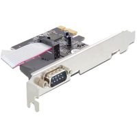 PCI-Express Card - 1xSerial RS-232 DB9 male w/low profile bracket