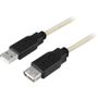 DELTACO USB 2.0 Cable Typ A Male - Typ A Female 3m Retail