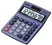 CASIO TABLE CALCULATOR MS-80VER LC-DISPLAY,  GREY                 IN ACCS (MS-80VER)