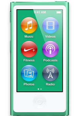 IPOD NANO 16GB GREEN 2012 IN CONS