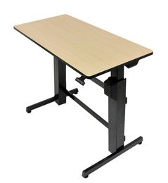 ERGOTRON WORKFIT-D BIRCH WOOD GRAIN
