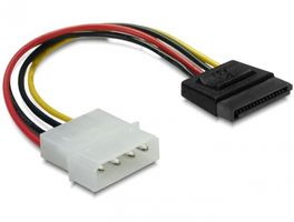 Kabel Power SATA HDD>4pin-St. gerade 0,06m