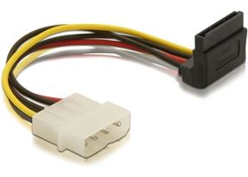 DELOCK SATA-Kabel SATA 15pin up -> 4pin Molex Bu/S (60104)