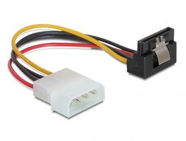 DELOCK SATA-Kabel 4pin Molex -> SATA 15pin down cl (60121)