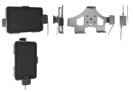BRODIT Active holder for fixed installation - Lader/holder - for Samsung Galaxy Tab 2 (7.0), Tab 2 (7.0) WiFi, Tab 7.0 Plus, Tab 7.0 Plus WiFi (513381)