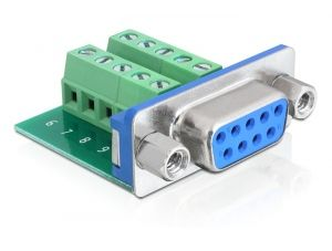 DELOCK Adapter Terminalblock 10pin ->