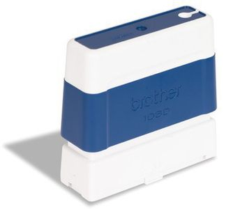 BROTHER Pack 6 bleu self-inking stamps 10x60mm (PR1060E6P)