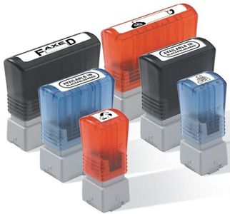 BROTHER Pack 6 bleu self-inking stamps 12x12 mm (PR1212E6P)