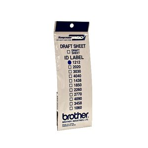 BROTHER Labels 12X12MM 12 P f SC-2000 (ID1212)
