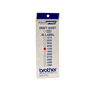 BROTHER Labels 14X38MM 12 P f SC-2000 (ID1438)