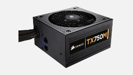 Power Supply 750W TX M Modular, ATX, PS/2
