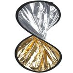 WALIMEX Double Reflector silver/ gold,  30cm (16536)