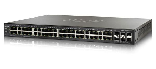 Cisco SMB 48-Port Gig with 4-Port 10-Gigabit Stackable Managed Switch Factory Sealed