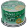 MAXELL DVD-R 4.7GB 8X DATA/ VIDEO 50PK SPINDEL NS