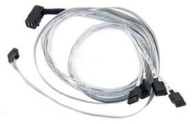 ADAPTEC I-RA-HDMSAS-4SATA-SB-.8M HD SAS CABLE                     IN CABL (2280000-R)