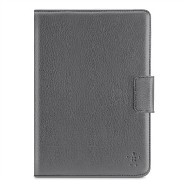 iPad Mini Leather Tab Cover with Stand Grey