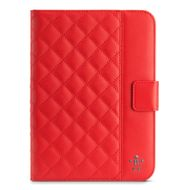 Belkin Quilted Cover w Stand iPad Mini Ruby (F7N040VFC02)