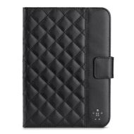 Quilted Cover w Stand iPad Mini Blacktop