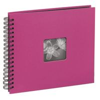 Fine Art   36x32/50  10608 Spiralbound Album, pink