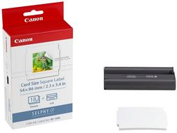 Canon KC-18IS INK/ LABEL-SET(FOR CP900) SUPL (7429B001)