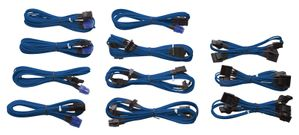 INDIVIDUALLY SLEEVED MODULAR CABLES, BLUE, HX/TXM