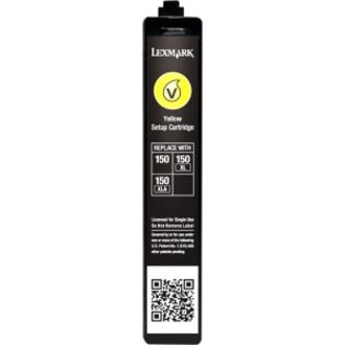 No150 Yellow ink cartridge blister pack