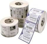 ZEBRA Z-SLCT 2000T 57X32MM 76MM COATED PERFO BOX OF 4 SUPL