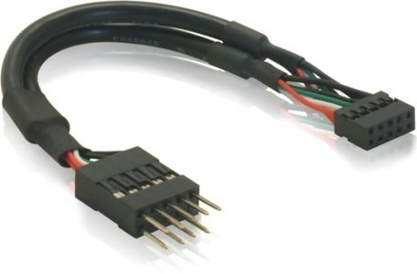 DELOCK USB-Kabel Pinheader 2,00mm -> 2,54mm Bu/St (41781)