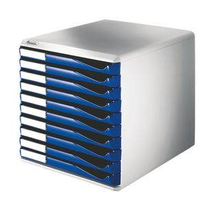 LEITZ Form set 10 drawers A4 blue (5281-00-35)
