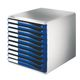 LEITZ Form set 10 drawers A4 blue
