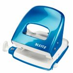 LEITZ Hole Punch 5008 2h/30 sheets Blue Metal (5008-10-36)