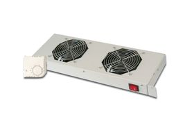 "RACKMOUNT COOLING UNIT FOR 19"" CABINETS, 2 FANS RACK"