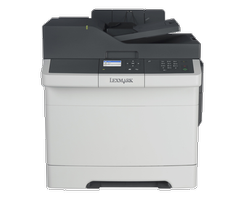 LEXMARK xmark CX310dn - Multifunktionell (skrivare/ kopiator/ skanner) - färg - laser - Legal (216 x 356 mm) (original) - Legal (216 x 356 mm), A4 (210 x 297 mm) (media) - upp till 23 sidor/ minut (kopiering) -  (28C0565?3PCS)