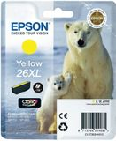 EPSON Ink Cart/ 26XLSer Polar Bear Yellow RS