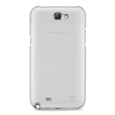 GALAXY NOTE 2 SHIELD SHEER ACRYL CLEAR TRANSPARENT ACCS