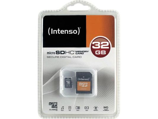 SD MicroSD Card 32GB inkl. SD Adapter