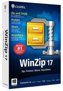 COREL WinZip Standard Edu 1yr Maint&Home Use Plan Multi-Lng,  Maintenance,  From 2000-4999 Users (LCWZSTDMLMNT1AI)