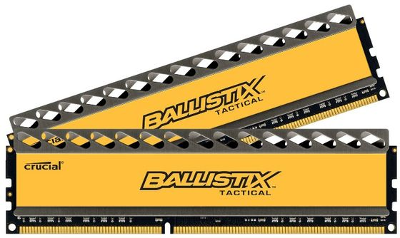 DDR3 BallistiX Tactical 16GB 16GB kit (8GBx2), 1600MHz,  1.5V, CL8-8-8-24