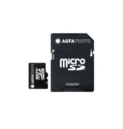 Mobile High Speed 16GB MicroSDHC Class 10 + Adapter