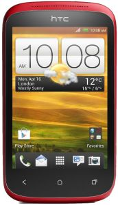 HTC Mobil Desire C, Red