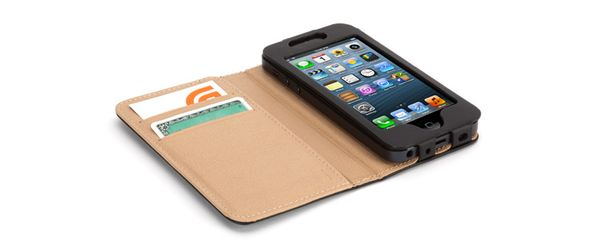Griffin Wallet Midtown iPhone 5 Black