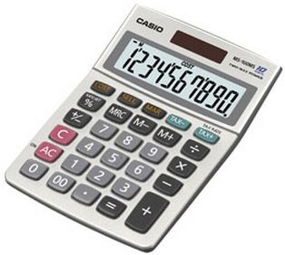 TABLE CALCULATOR MS-100MS