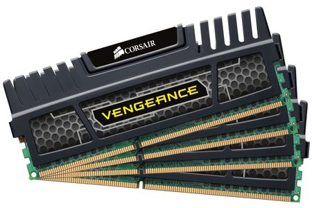 CORSAIR DDR3-1866 32GB Corsair/ CL9/ KIT-4x8GB/ Vengeance (CMZ32GX3M4A1866C9)