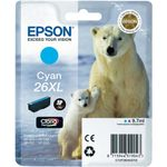 EPSON InkCart/ 26XLSer Polar Bear Cyan RS RF AM