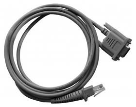 CAB-327  RS232 CABLE DB9 RCPT  E/P  STRT