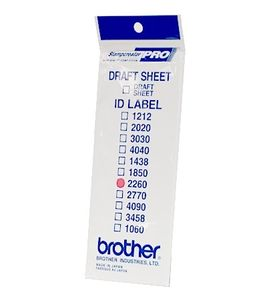 BROTHER Labels 22X60MM 12 P f SC-2000 (ID2260)