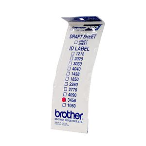 BROTHER Labels 34X58MM 12 P f SC-2000 (ID3458)