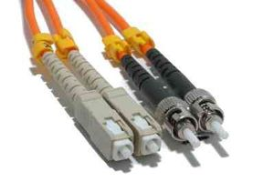 LWL Patchkabel Equip ST -> SC 10,00m Multimode Duplex OM1 or